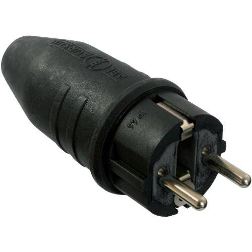 Vollgummi-Stecker 230V / 10/16A