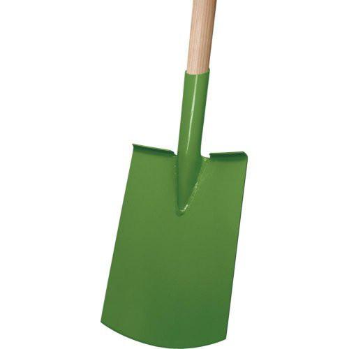 Damenspaten Rohrdüll grün lackiert, Import