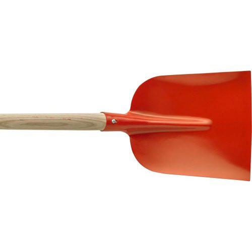Holsteiner Schaufel rot Gr. 2 mit Stiel Import