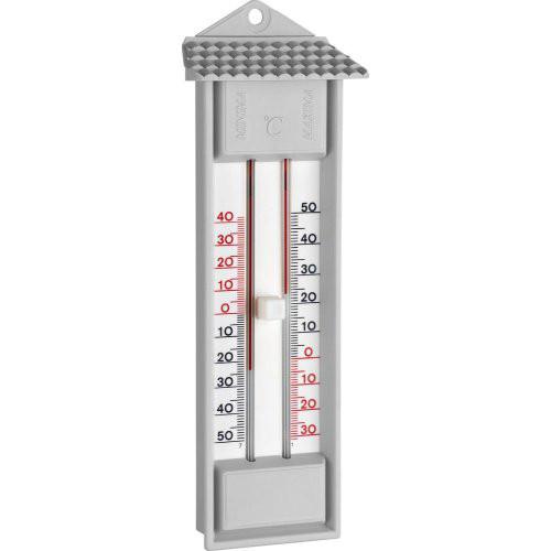 Thermometer Maxima-MinimaKunststoff, grau