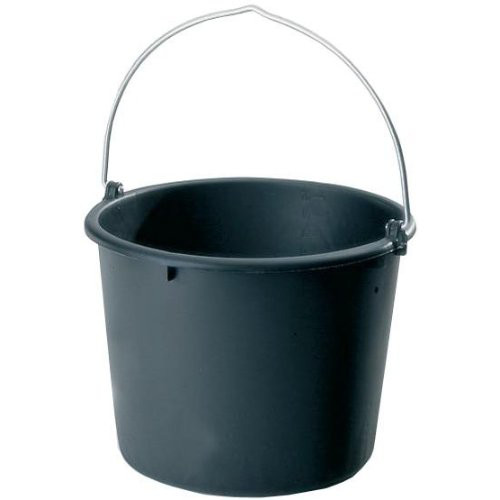Baueimer Polyethylen- Regeneratg. schwarz 10 l