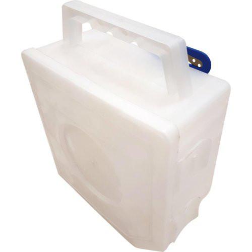 Abrollbox transparent mit Schneidvorrichtung