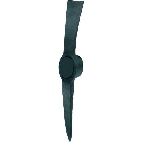 Kreuzhacke Stahl schwarz lackiert 1,5 kg