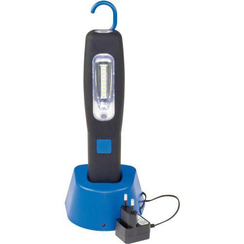 LED-Akkulampe mit Magnet und mit Dockingstation