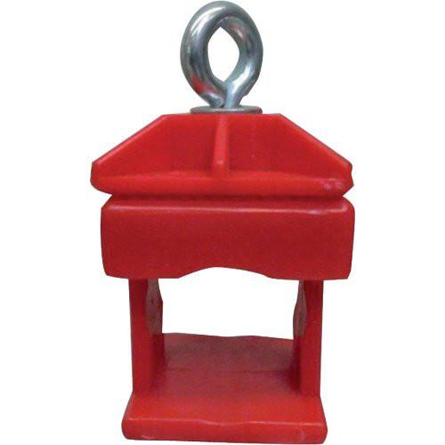 Schilderklemme rot Kunststoff Typ 31313