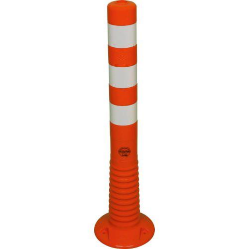 Flexipfosten 750mm, Ø 80mm, orange
