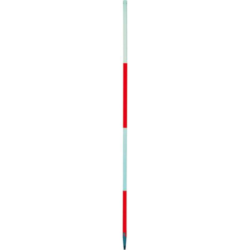 Baufluchtstab 2m, Stahl, Spitze Rund