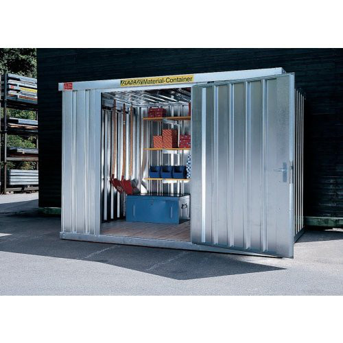 Materialcontainer MC 1400verzinkt, zerlegt, 4,00 m