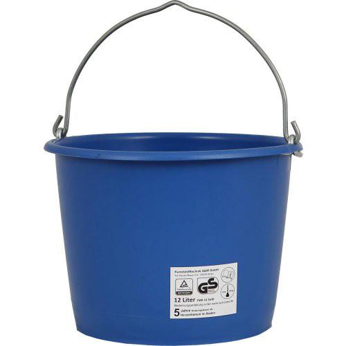 Baueimer 12 L, kranbar blau