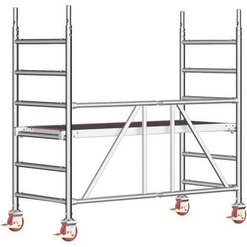 Rollgerüst Zifa P2 Arbeitshöhe: 2,90m