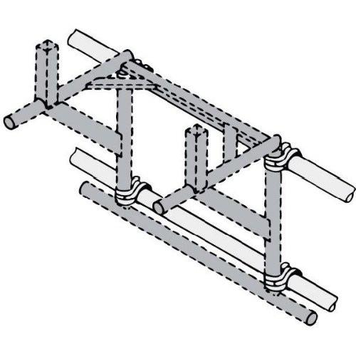 Gerüstbefestigung für Trägergestell