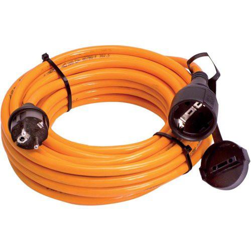 PROFI-Verlängerungskabel 25m H07BQ-F 3G2,5 orange