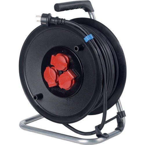 Sicherheits-Kabeltrommel 230mm, 25m H05RR-F3G1,5