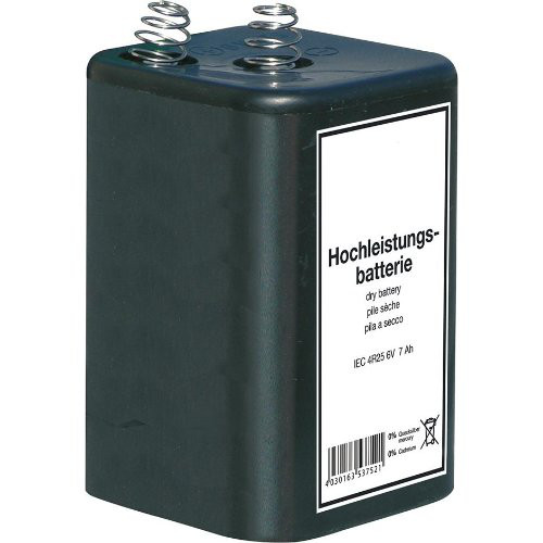 Blockbatterie 6V / 7 Ah Quecksilberfrei