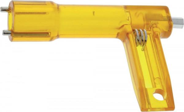 Schlüssel für Baustellenleuchte