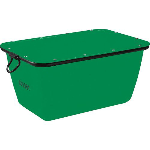 Mörtelkübel 200 L, grün kranbar