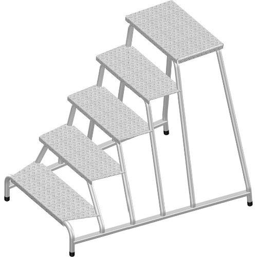 Maschinentritt 5-Stufen Standhöhe 0,99m