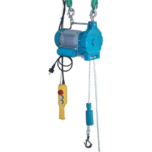 Hebeseilzug Tragkr 150kg 230 V Seil 50 m 8 mm
