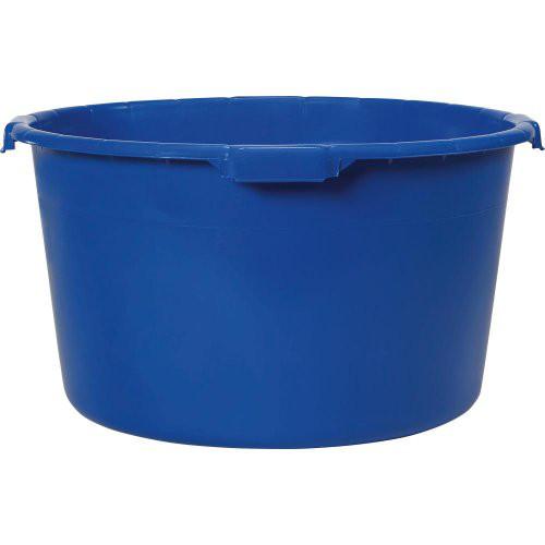 Mörtelkübel 90 L blau ohne umlaufenden Rahmen
